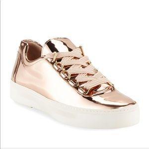 Stuart Weizmann Rose Gold Sneaker
